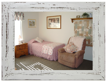 New Horizon's Adult Care Homes furnishes bedrooms for beauty and comfort